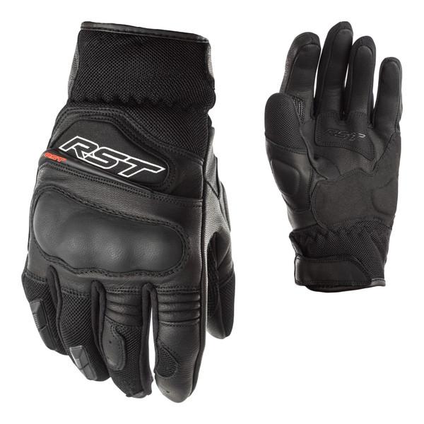 Urban Air II CE Leather Ladies Short Gloves - Black / Black