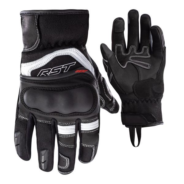 RST Urban Air 3 Mesh CE Ladies Gloves - Black / White
