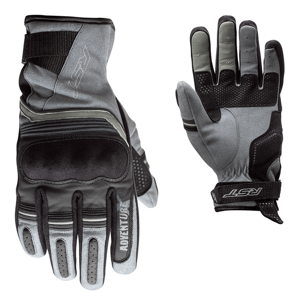 Adventure-X CE Mens Gloves - Grey / Silver