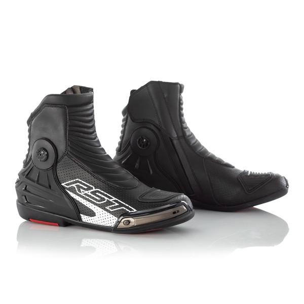 RST Tractech Evo 3 Short Boot - Black / Black