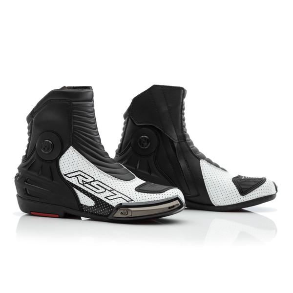 RST Tractech Evo 3 Short Boot - White / Black
