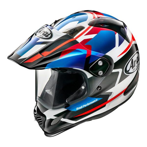 Arai Tour X 4 Adventure Helmet - Depart Metallic Blue