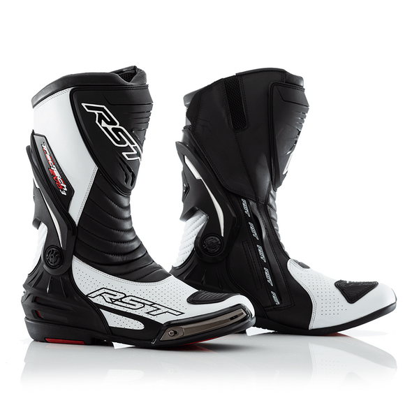 RST Tractech Evo 3 Sport CE Mens Boots - White / Black