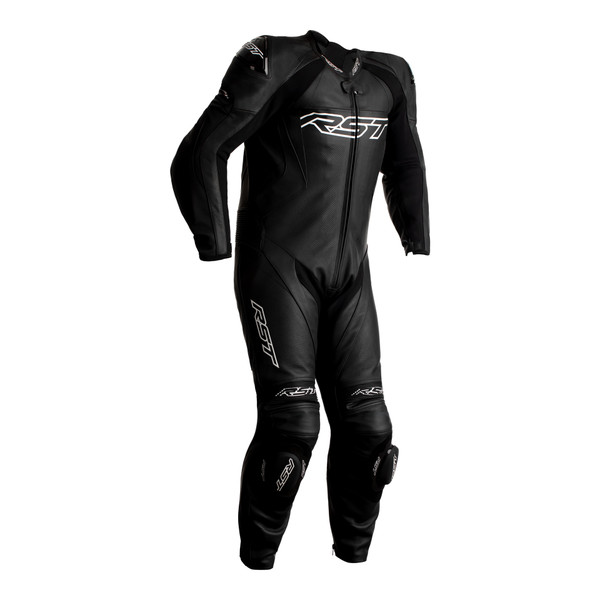 RST Tractech Evo 4 CE Mens Leather Suit - Black / Black