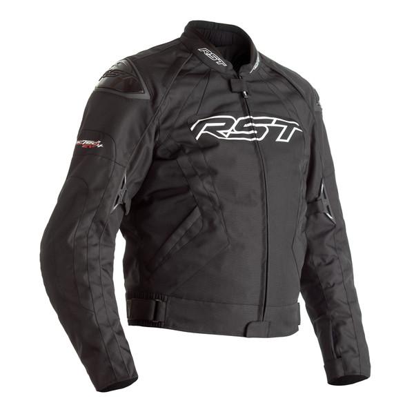 RST Tractech Evo 4 CE Mens Textile Jacket - Black / Black