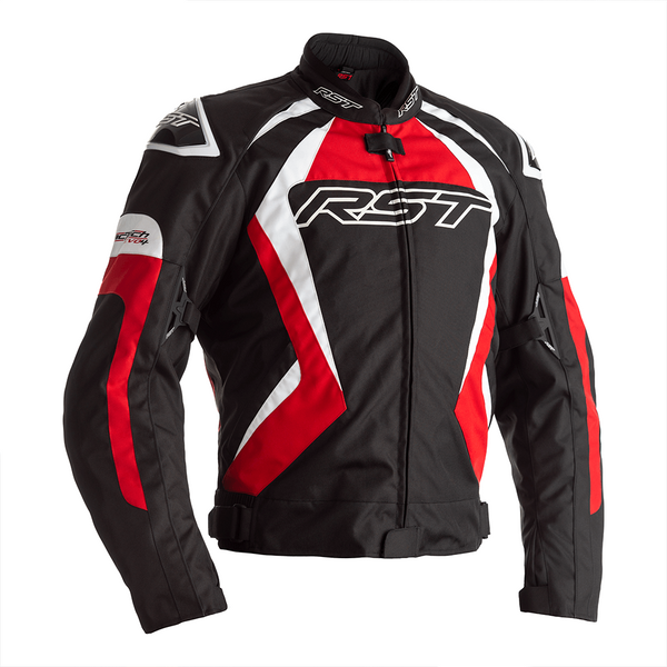 RST Tractech Evo 4 CE Mens Textile Jacket - Black / Red