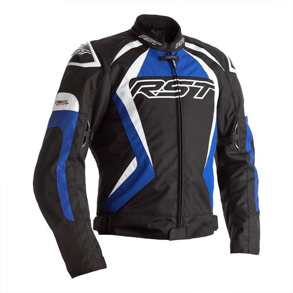 RST Tractech Evo 4 CE Mens Textile Jacket - Black / Blue