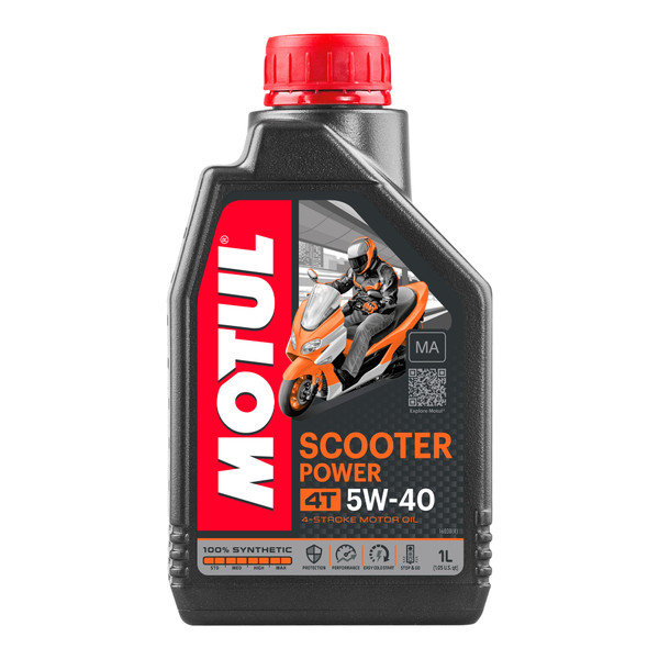Scooter Power 5W40 4T MA 1 Litre