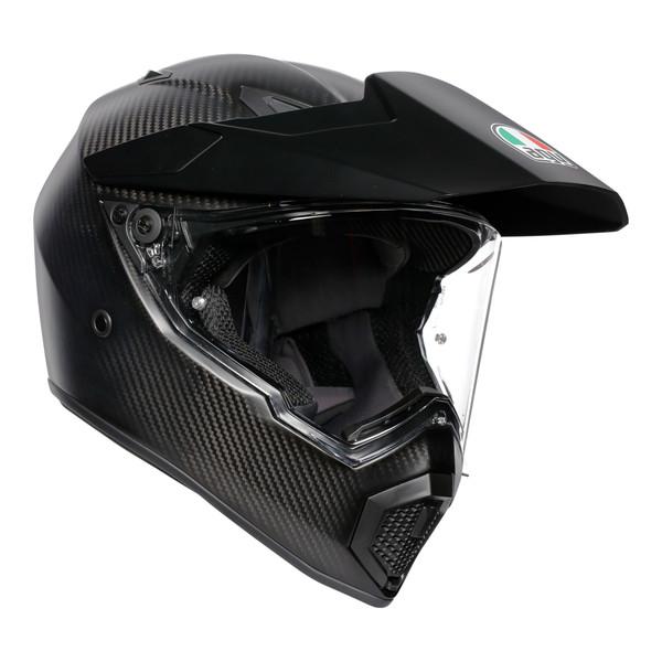 AGV AX9 Adventure Helmet - Carbon Matt Black