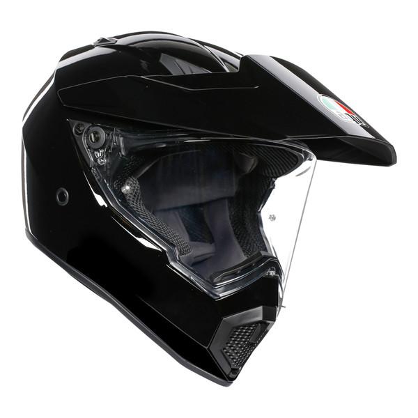 AGV AX9 Adventure Helmet - Solid Black