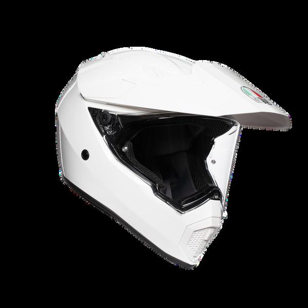 AGV AX9 Adventure Helmet - Solid White