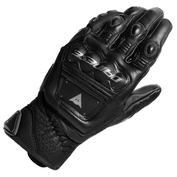 Dainese 4-Stroke 2 Leather Gloves 631 - Black / Black