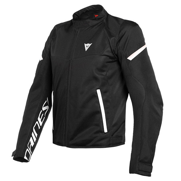 Dainese Bora Air Textile Jacket - Black / White