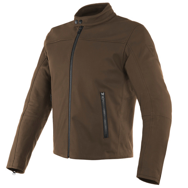 Dainese Mike 2 Leather Jacket - Carafe