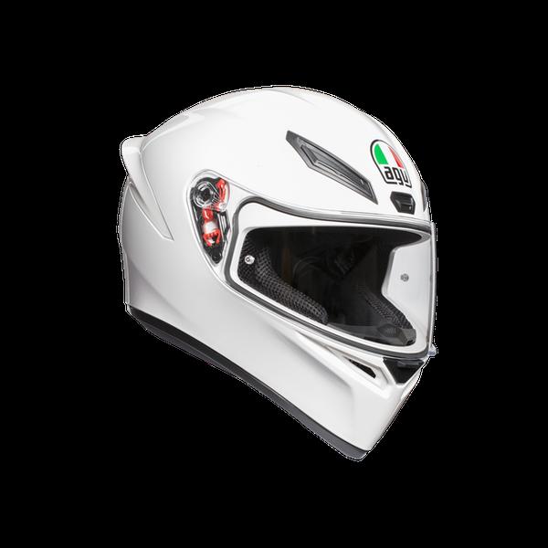 AGV K1 Full Face Helmet Plain - White