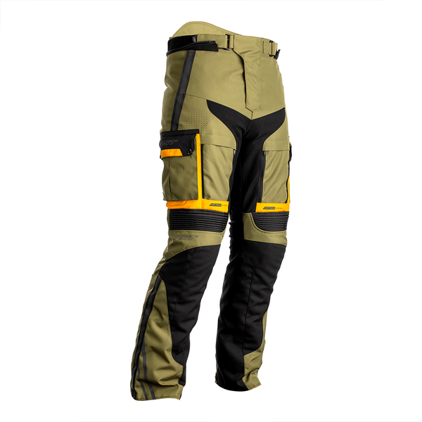 RST Pro Series Adventure-X CE Mens Textile Jean - Green / Ochre