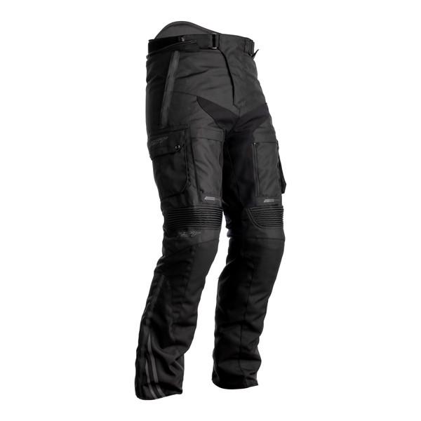 RST Pro Series Adventure-X CE Short Leg Mens Textile Jean - Black / Black