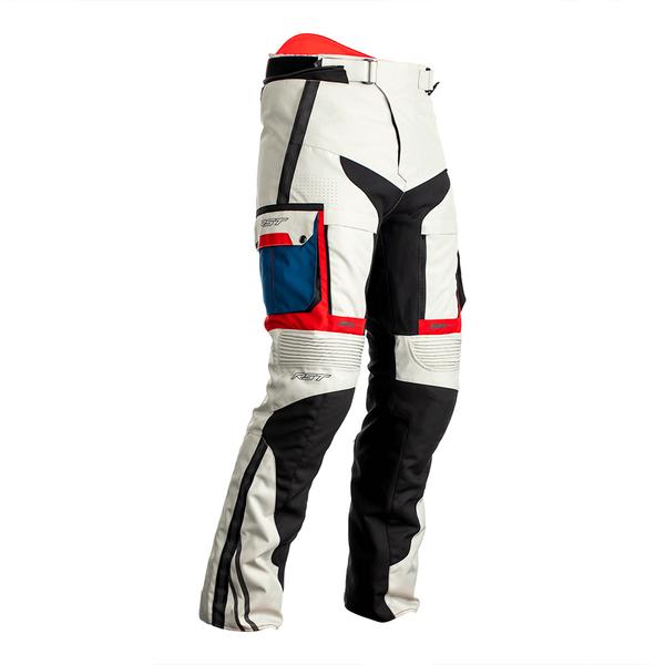 RST Pro Series Adventure-X CE Mens Textile Jean - Ice / Blue / Red / Black