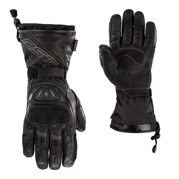 RST Pro Series Paragon 6 Heated CE Waterproof Gloves - Black