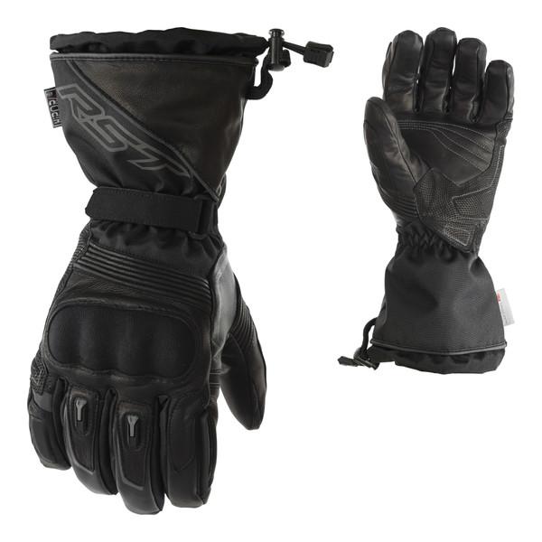 RST Paragon CE Ladies Waterproof Gloves - Black / Black