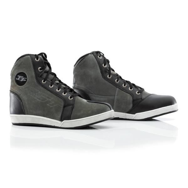 RST IOM TT Crosby Suede CE Mens Waterproof Boots - Grey