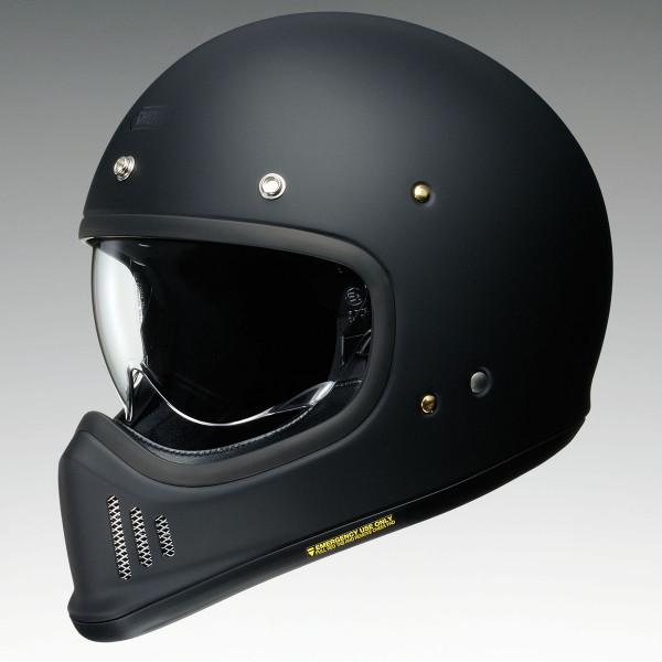 Shoei Ex-Zero Helmet - Plain Matt Black