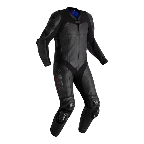 RST Pro Series Airbag CE Mens Leather Suit - Black