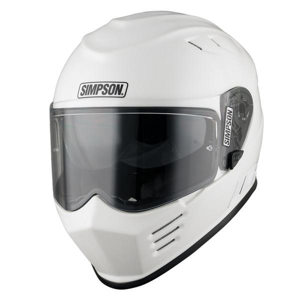 Simpson Venom Full Face Helmet - Gloss White