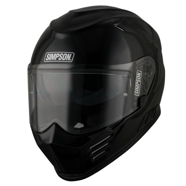 Simpson Venom Full Face Helmet - Gloss Black