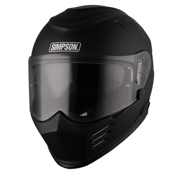 Simpson Venom Full Face Helmet - Matt Black