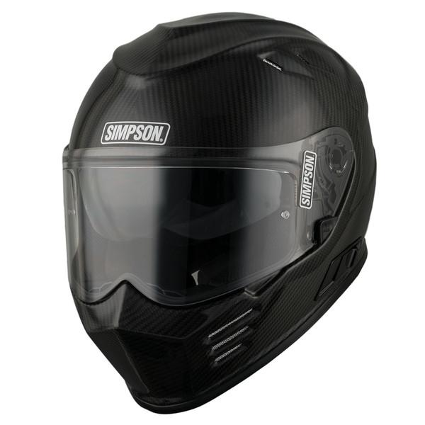 Simpson Venom Full Face Helmet - Carbon