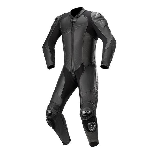 Alpinestars GP Plus V3 Graphite Leather 1 Piece Suit - Black