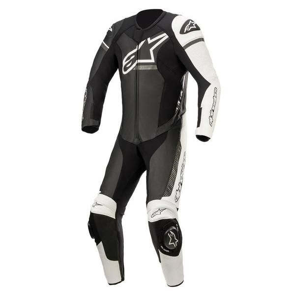 Alpinestars GP Force Phantom Leather 1 Piece Suit - Black / White