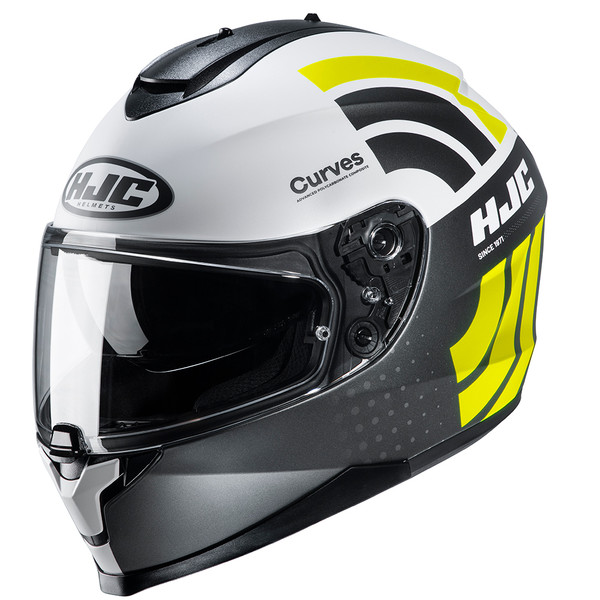 HJC C70 Full Face Helemt Curves - Yellow