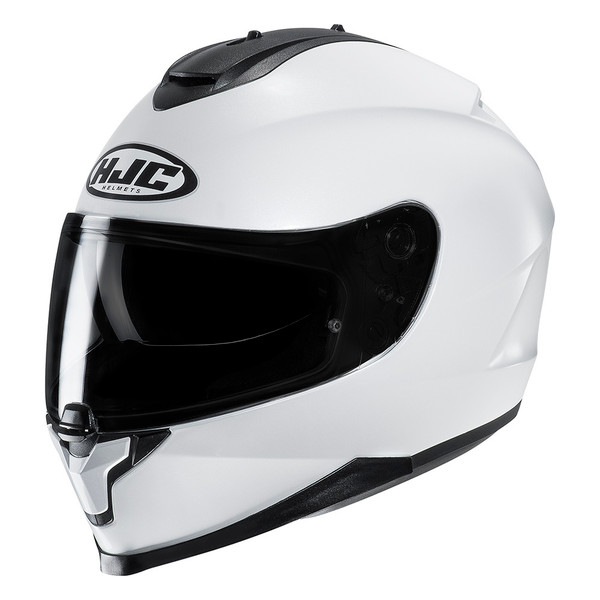 HJC C70 Full Face Helmet - White