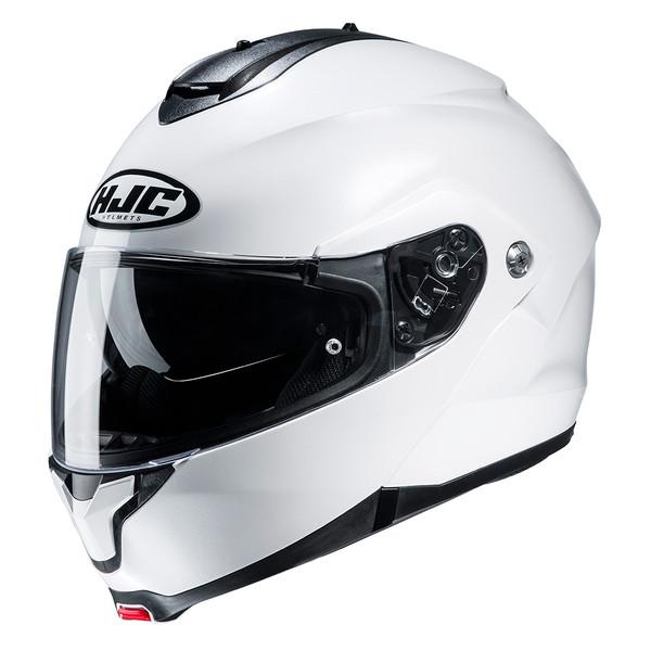 HJC C91 Flip Front Helmet - White