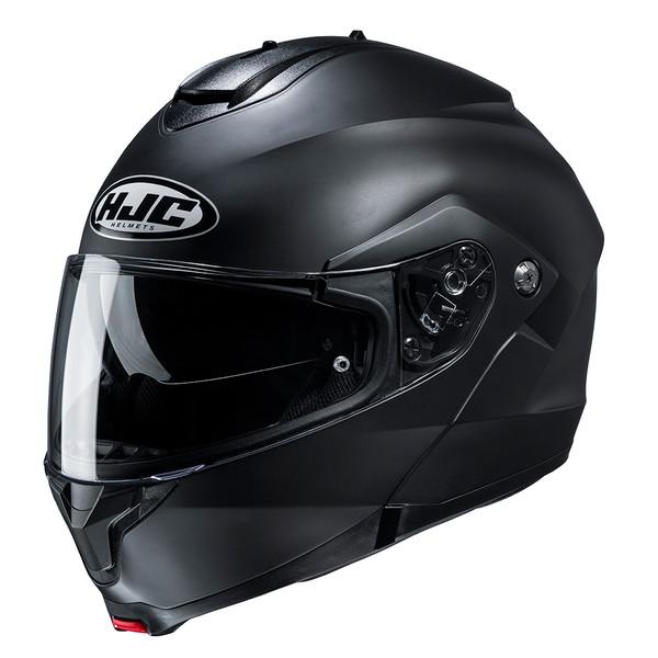 HJC C91 Flip Front Helmet Plain - Matt Black