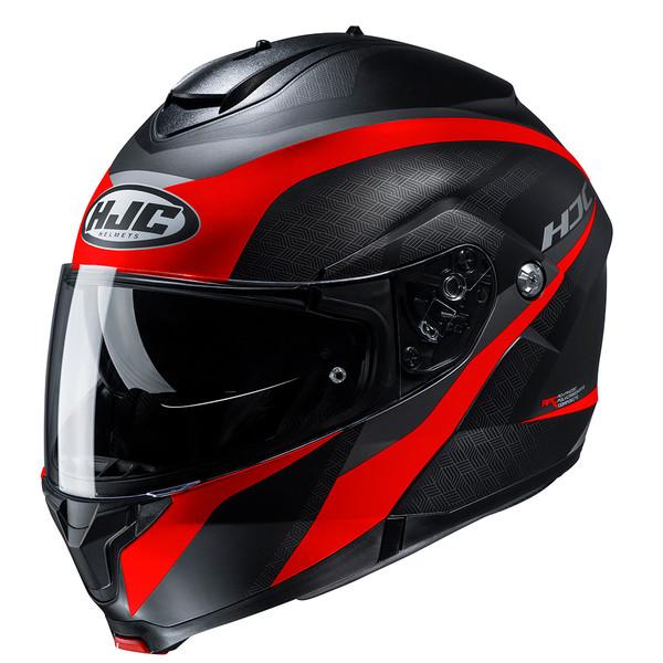 HJC C91 Flip Front Helmet Taly - Red