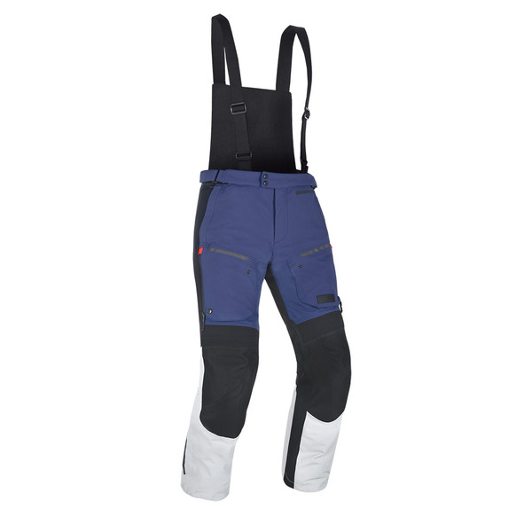 Oxford Mondial Men's Laminated Pants - Blue / Grey