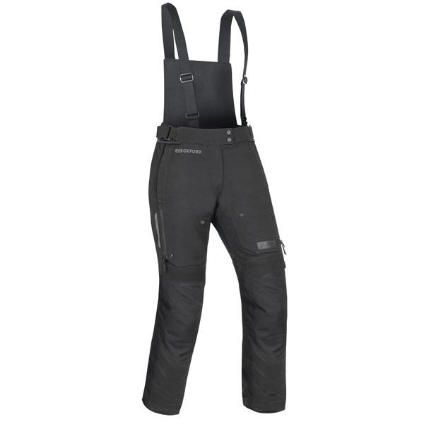 Oxford Mondial Women's Laminated Pants - Regular Tech Black