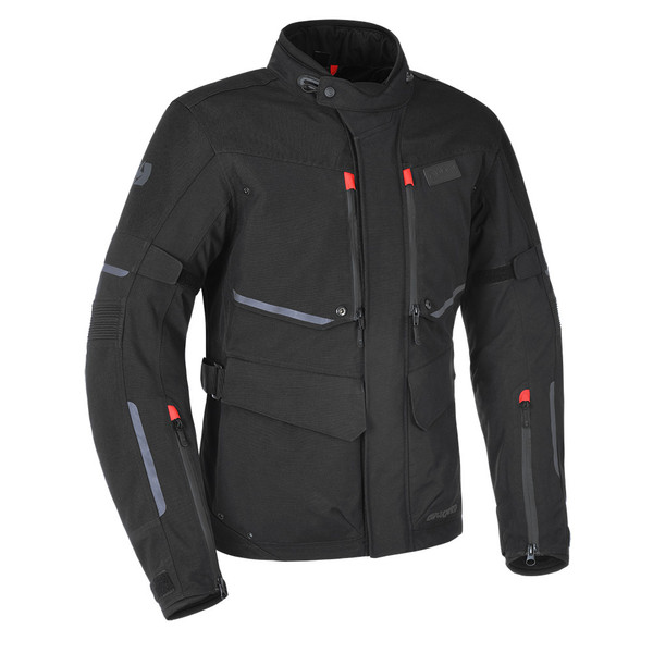 Oxford Mondial Men's Advanced Laminated Textile Jacket - Tech Black