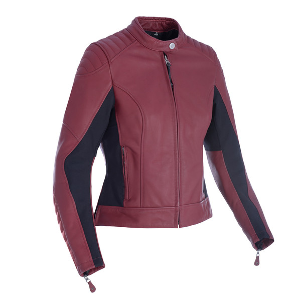 Oxford Beckley Women's Leather Jacket - Russet
