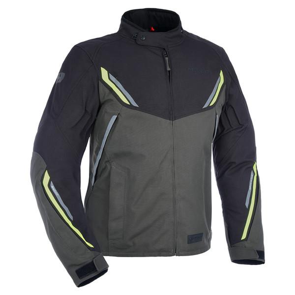 Oxford Hinterland Advanced Textile Jacket - Black / Grey / Fluo