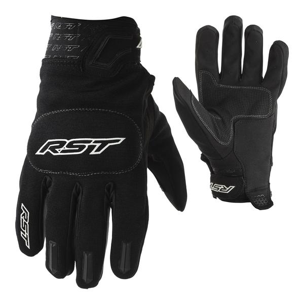 RST Rider CE Mens Gloves - Black / Black