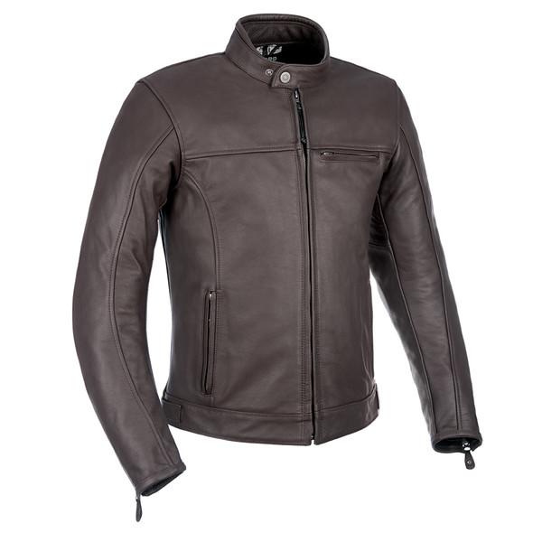 Oxford Walton Mens Leather Jacket - Brown