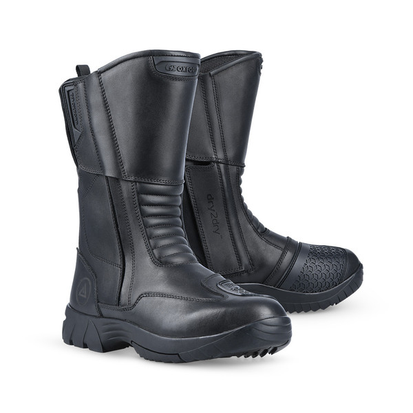 Oxford Continental Mens Waterproof Boots - Black