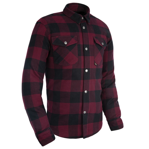 Oxford Kickback 2.0 Mens Reinforced Shirt - Red