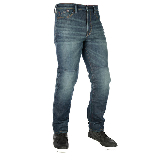 Oxford Original Approved AAA Mens Jeans Straight 3 Year - Blue Short