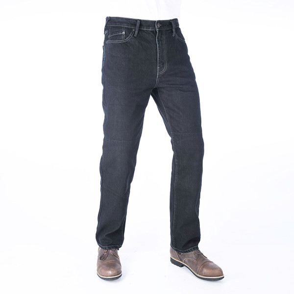 Oxford Original Approved AA Mens Jeans Straight - Black Regular