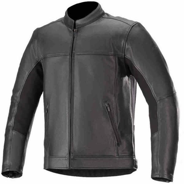 Alpinestars Topanga Leather Jacket - Black